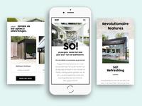 Pergola So! - Luxury content website