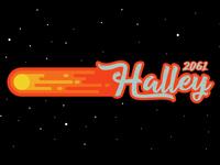 Comet Halley 2061