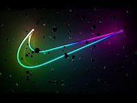 Nike Neon Wallpaper