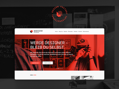 DFI Website Relaunch ux ui duplex education design factory website design