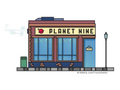 Planet Nine - Illustration