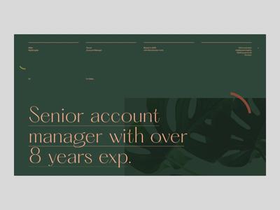 Millie N. Portfolio — Website pangrampangram folio portfolio transition animation motion website web branding minimal grid typography webdesign