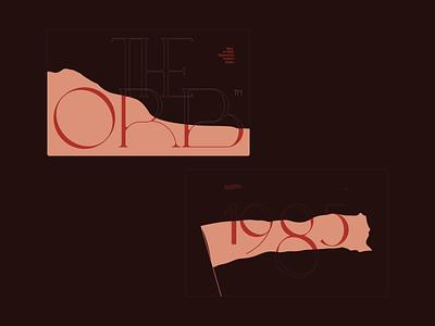 The Orb — 1985 colors web moodboard mood brand modele fashion elegant website branding ui typography grid minimal webdesign concept