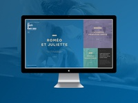 Ballets de Monte Carlo - Design proposal