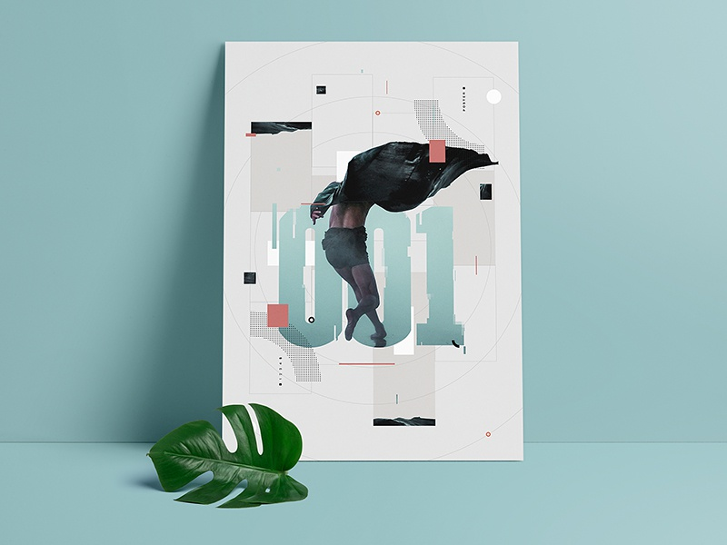005 — 001 grid dark artwork colors glitch print poster illustration
