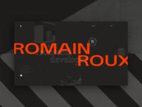 Romain #2 — Portfolio concept