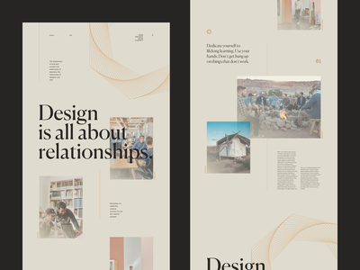 Design Relationships vector typo concept minimal grid webdesign typography ui branding flat lyon ux interface photo web