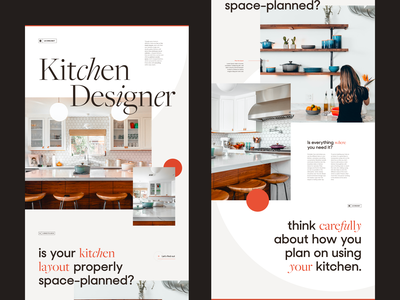 Le Creuset Kitchen Designer web design design web vector flat colors branding ui typography grid webdesign minimal concept