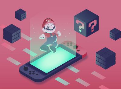 Mario and Nintendo Switch
