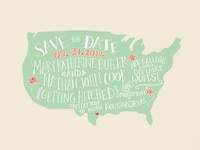 Illustration | Our Save the Date