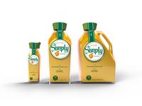 Simply Orange Bottle Concepts