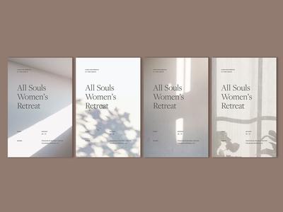 Retreat Poster Series