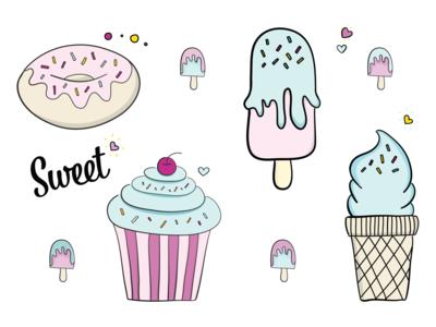 Sweet Illustrations