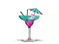 Cocktail Illustration Process