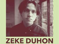 Zeke Duhon Album Release Poster
