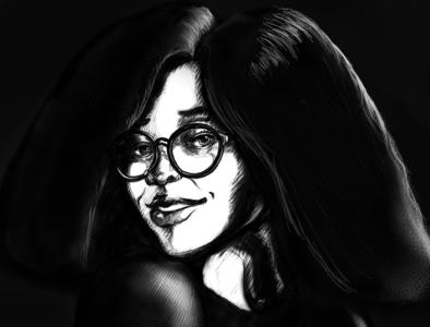 Another Portrait portrait illustration digital art