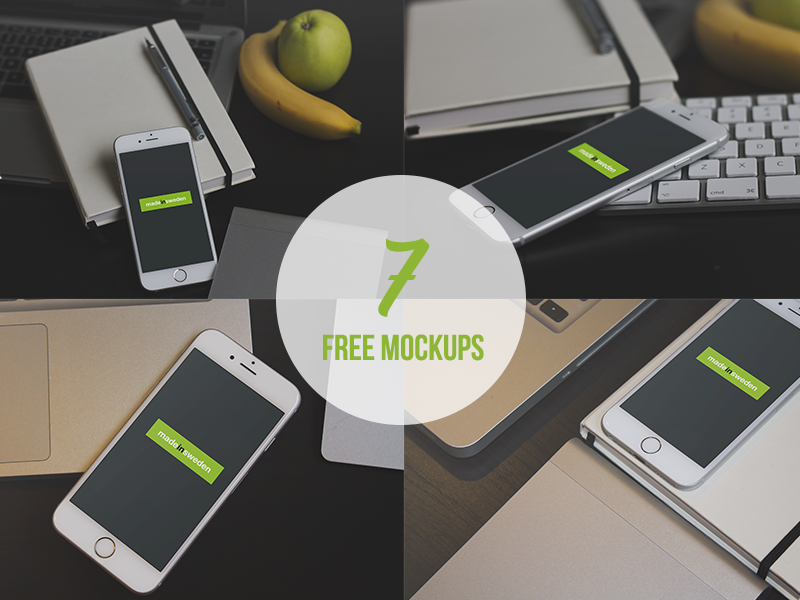 7 Free iPhone 6 Mock-Ups iphone 6 mock-up freebie free file iphone mock-ups