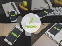 7 Free iPhone 6 Mock-Ups