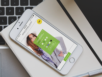 Full Shop App Template for iPhone 6 shop e-shop iphone 6 shopping app iphone app fashion computers apple