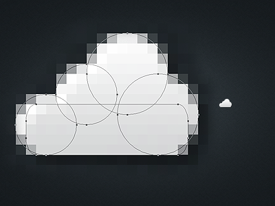 Icon Anatomy - Cloud cloud icon icon cloud in-the-cloud