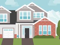 SafeWise House Illustration