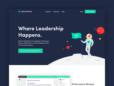 Qulture.Rocks Homepage Redesign