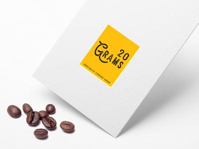 20 Grams logo design