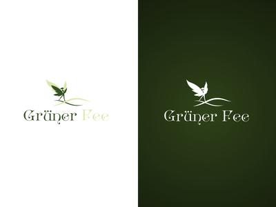 Grüner Fee logo design