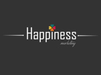 Happiness.marketing   Logo Design
