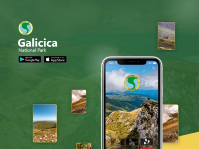 National Park Galicica | UI/UX APP
