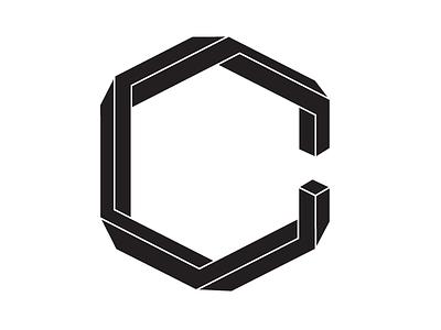 Geometric Lettermark C geometric penrose lettermark monogram logo c