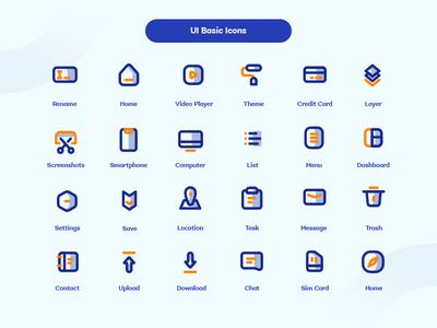 Shade Duotone UI Basic Icons