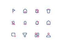User Interface Icon ( Double Color )