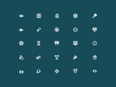Sport Outline Icon
