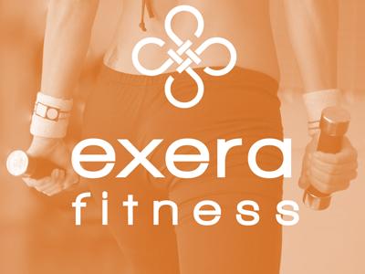 Exera Fitness Logo fitness logo exera