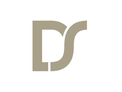Design Shop brand mark logo brand mark monogram d s