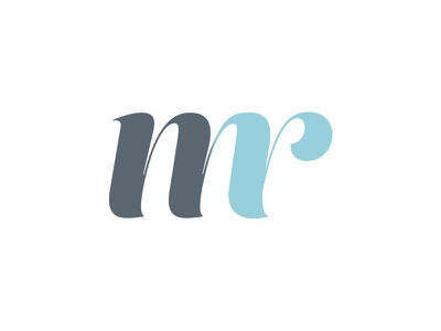 M and R initials logo real estate realtor logo r m monogram mr