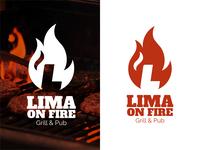 "Logo Design For ""Lima On Fire"""