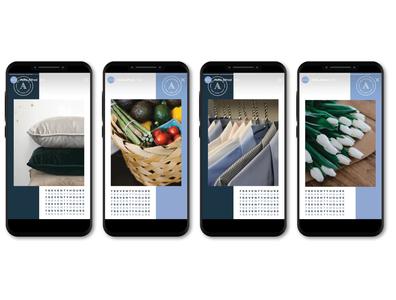 7Seventy Instagram Stories instagram design