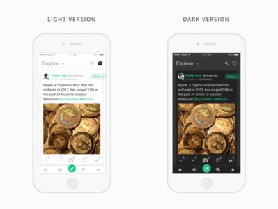 Explore App app mobile ui design