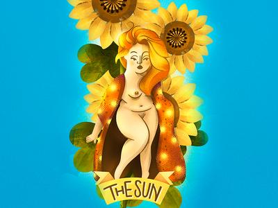 Tarot Card ☀ The SUN ☀