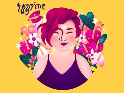 My Meet the Artist - Self portrait