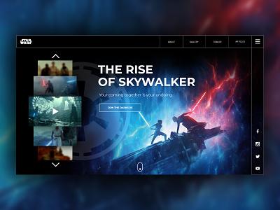 Star Wars Rise of Skywalker UX/UI Design ui design uidesign ux design star wars product design user experience user interface ui uxui ux