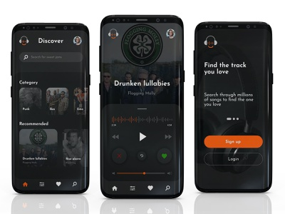 Music App Concept customer experience cx cx design user interface user experience ux ux design music app design music app ui music app concept app concept app