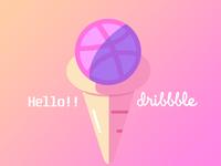 Hello!! Dribbble