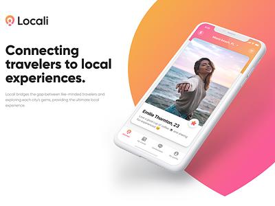 Social Meeting App case study travel social dating design branding ux ui