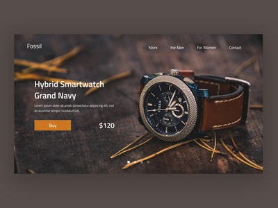 Hybrid Watches ux web branding design website web design ux ui design ui