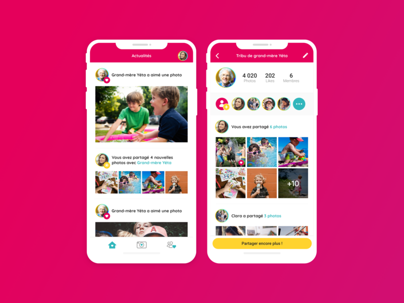 Sunday • Mobile App news profil uxdesign uidesign share iphonex sketch interface dashboard ios design mobile application ui ux
