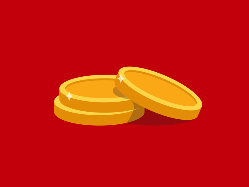 Coins money coins illustration