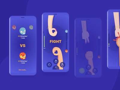 Epic Mobile Game UI FREE elements ios freebie free logo vector uiux illustration icon game design design game 2d mobile